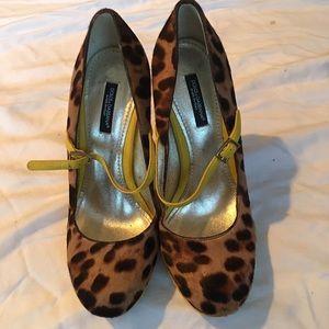 Dolce & Gabbana Shoes - Dolce and Gabbana calf hair leopard print heels